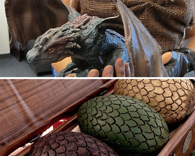 มังกร and Dragon Eggs for Halloween Costume