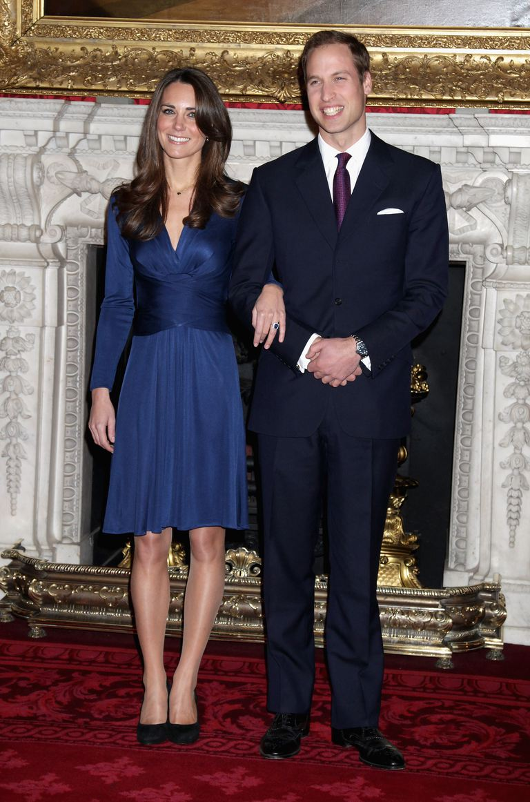 Recent engaged Kate Middleton and Prince William