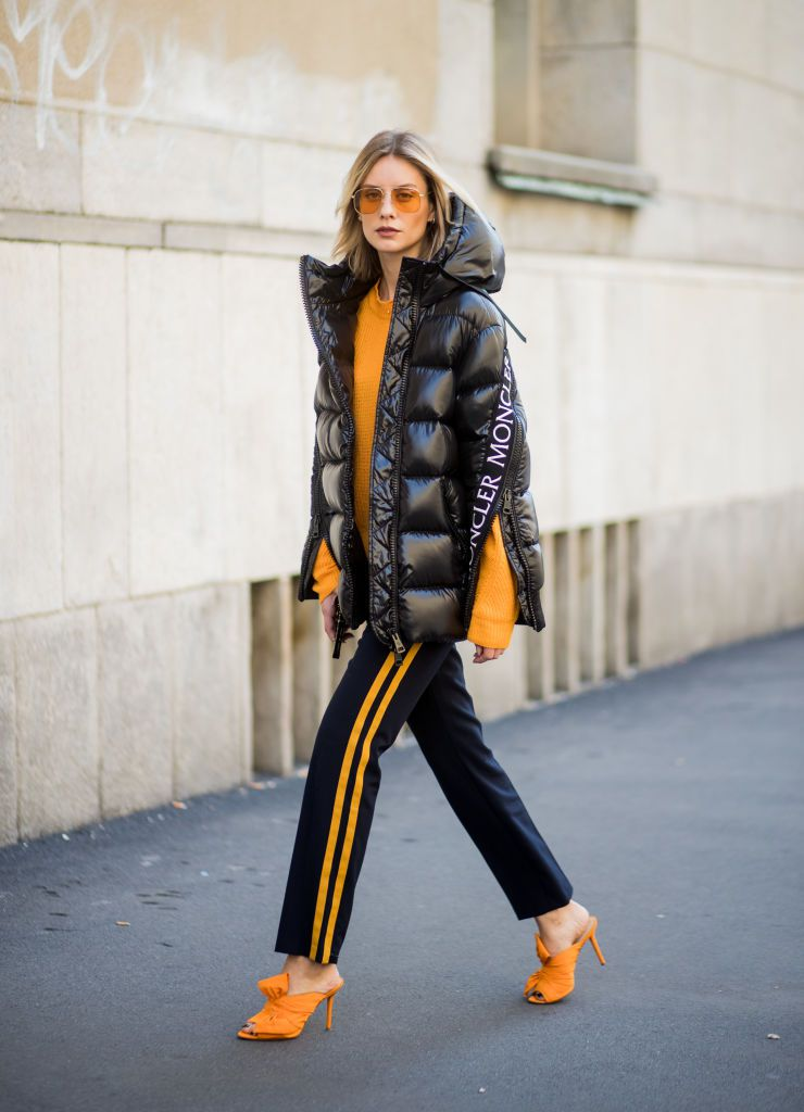utca style athleisure trend with puffer jacket