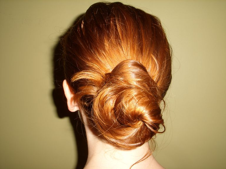Гооди Spin Pin, easy updo, french twist, hairstyles