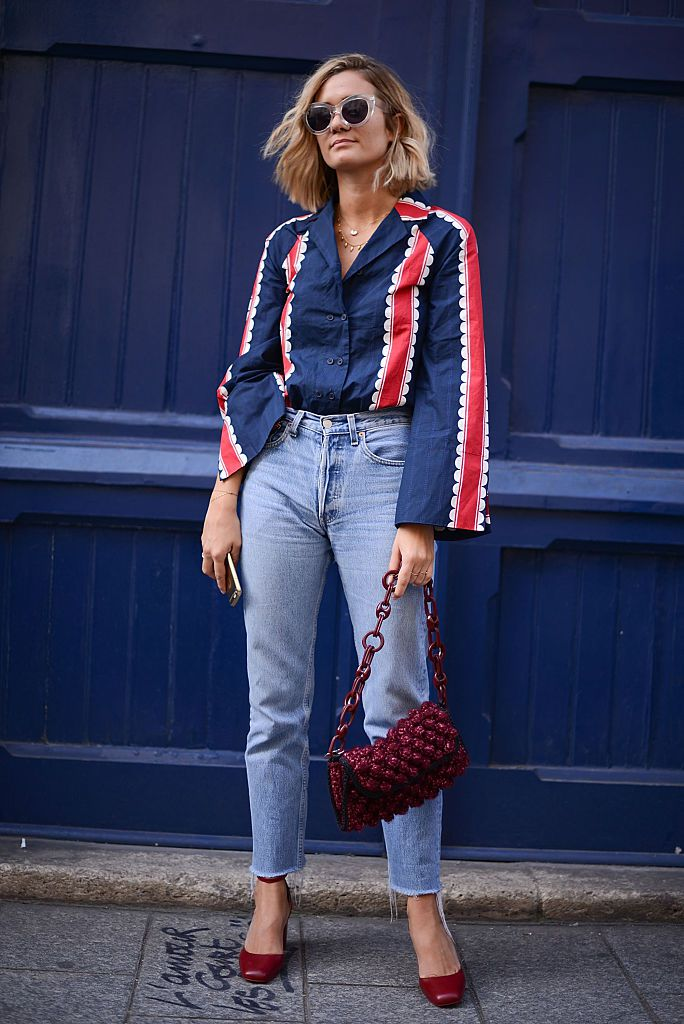 Улица style in jeans