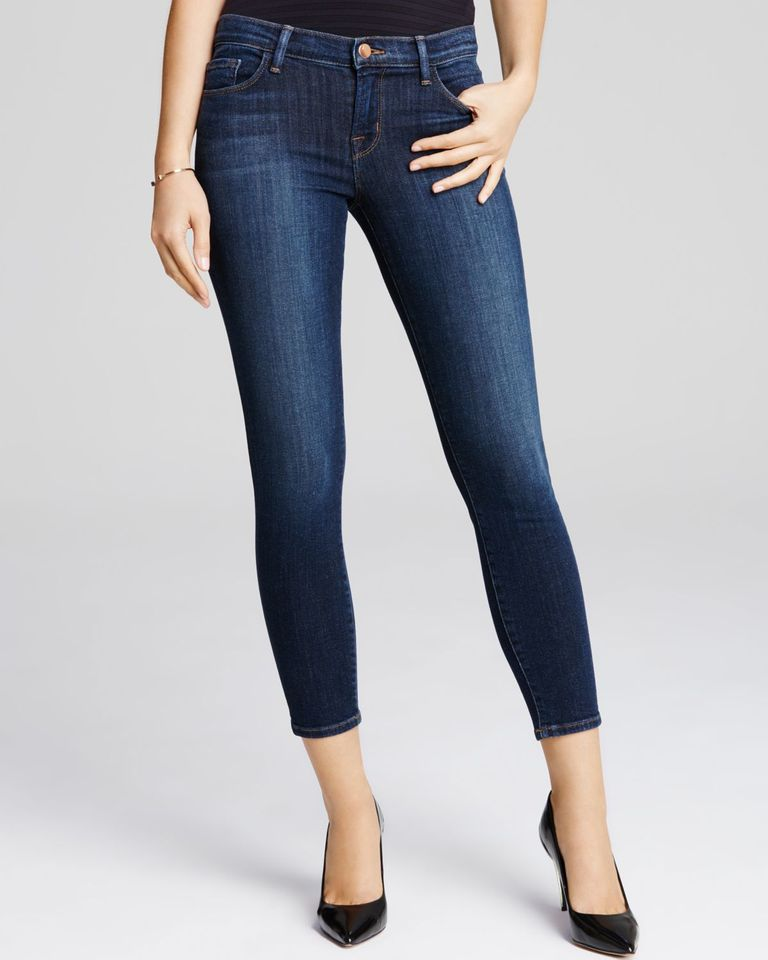 जम्मू Brand Cropped Jeans