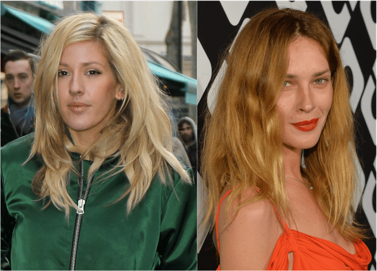 Glava postelje on singer Ellie Goulding & model Erin Wasson