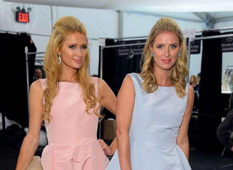 Pariz and Nicky Hilton