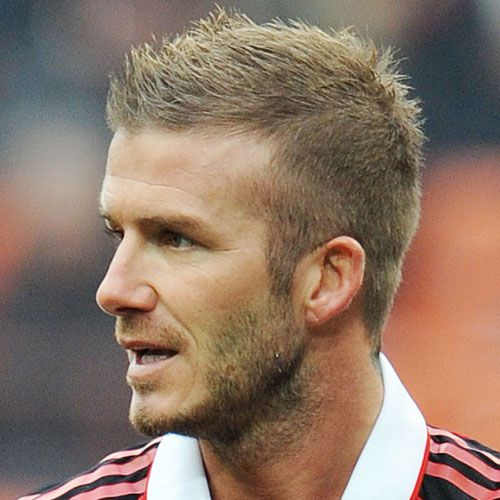 David Beckham Short Back and Sides