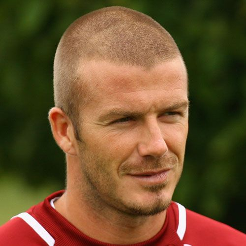 David Beckham Butch Cut