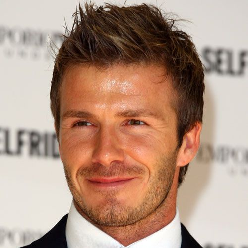 David Beckham Spiky Texture