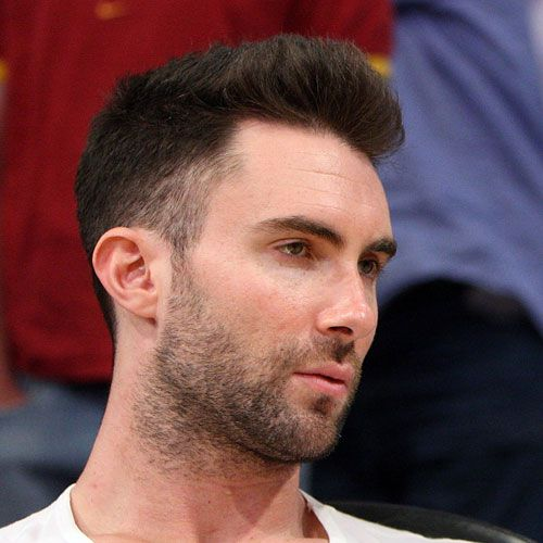 Adam Levine with rockabilly hair