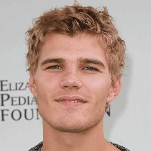 Chris Zylka Short Shag Haircut