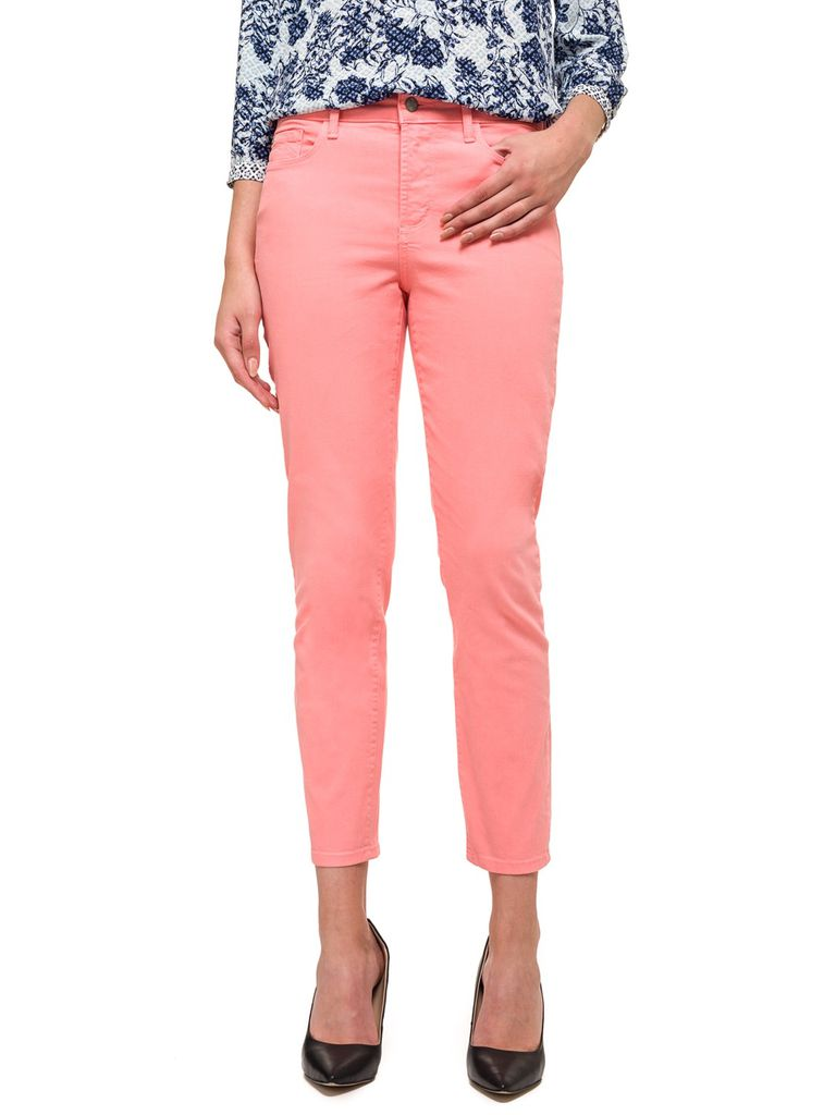 NYDJ Clarissa Ankle Skinny Jeans in Exotic Melon
