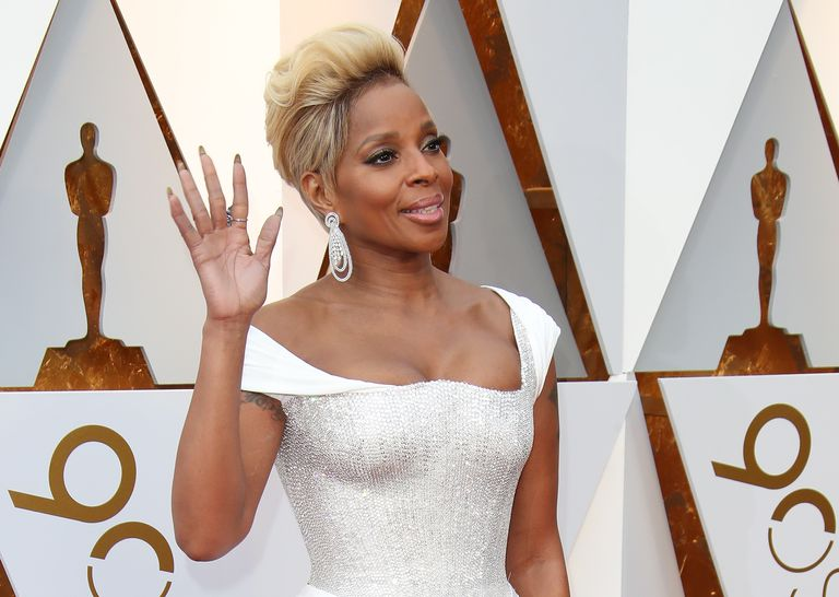 Mary J. Blige on red carpet