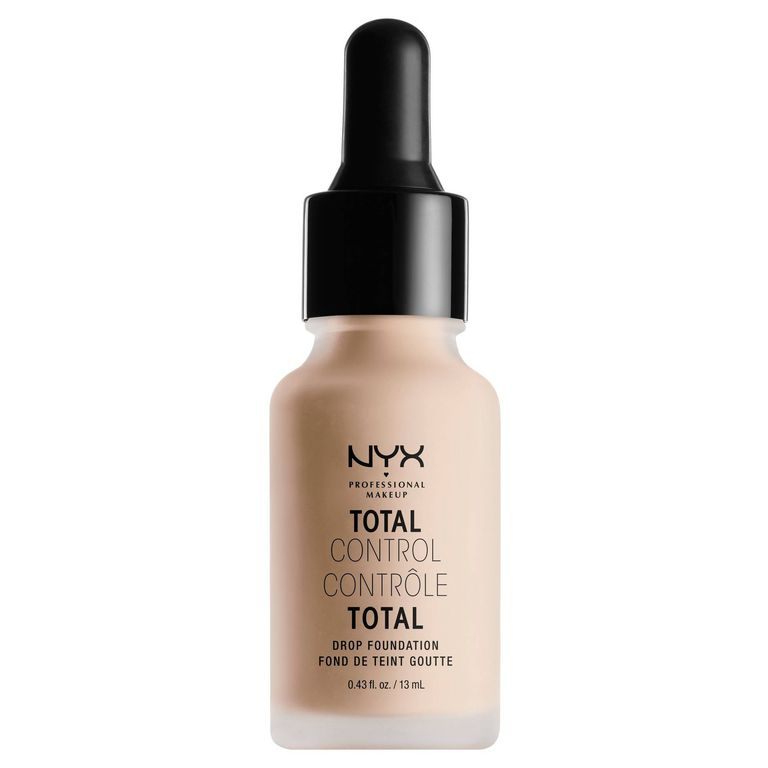 NYX Professional Makeup Total Control Drop Foundation - Fair Shades - 0.43 fl oz