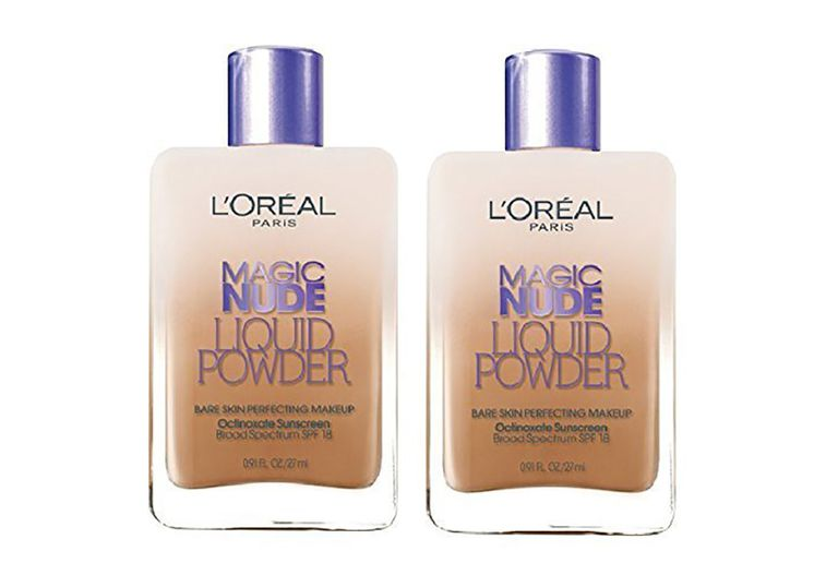 L'Oreal Paris Magic Nude Liquid Powder SPF 18 #332 Soft Sable (Pack of 2)