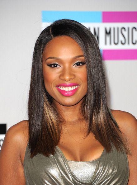 Jennifer Hudson with ombre hair