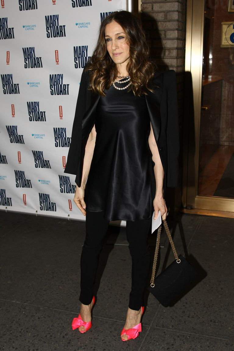 ซาร่าห์ Jessica Parker attends the opening night of 'Mary Stuart' on Broadway April 19, 2009 in New York City.