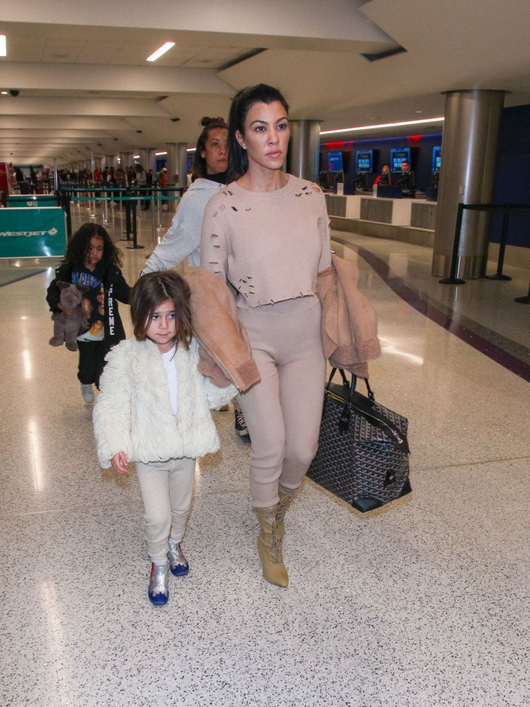 Kourtney Kardashian and daughter Penelope