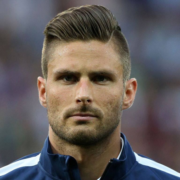 Oliver Giroud Haircut