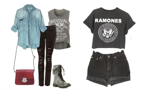 Vad to wear to a Rock concert