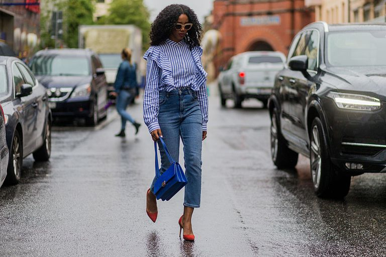 Лето street style in jeans